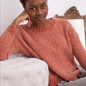 Aerie Chenille Crewneck Sweater